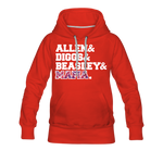 Women's Players Premium Hoodie - red