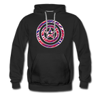 Men's Captain Buffalo Premium Hoodie - black