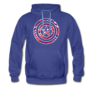 Men's Captain Buffalo Premium Hoodie - royalblue