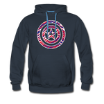 Men's Captain Buffalo Premium Hoodie - navy