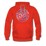 Men's Captain Buffalo Premium Hoodie - red