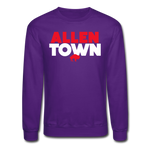 Unisex Allentown Crewneck Sweatshirt - purple