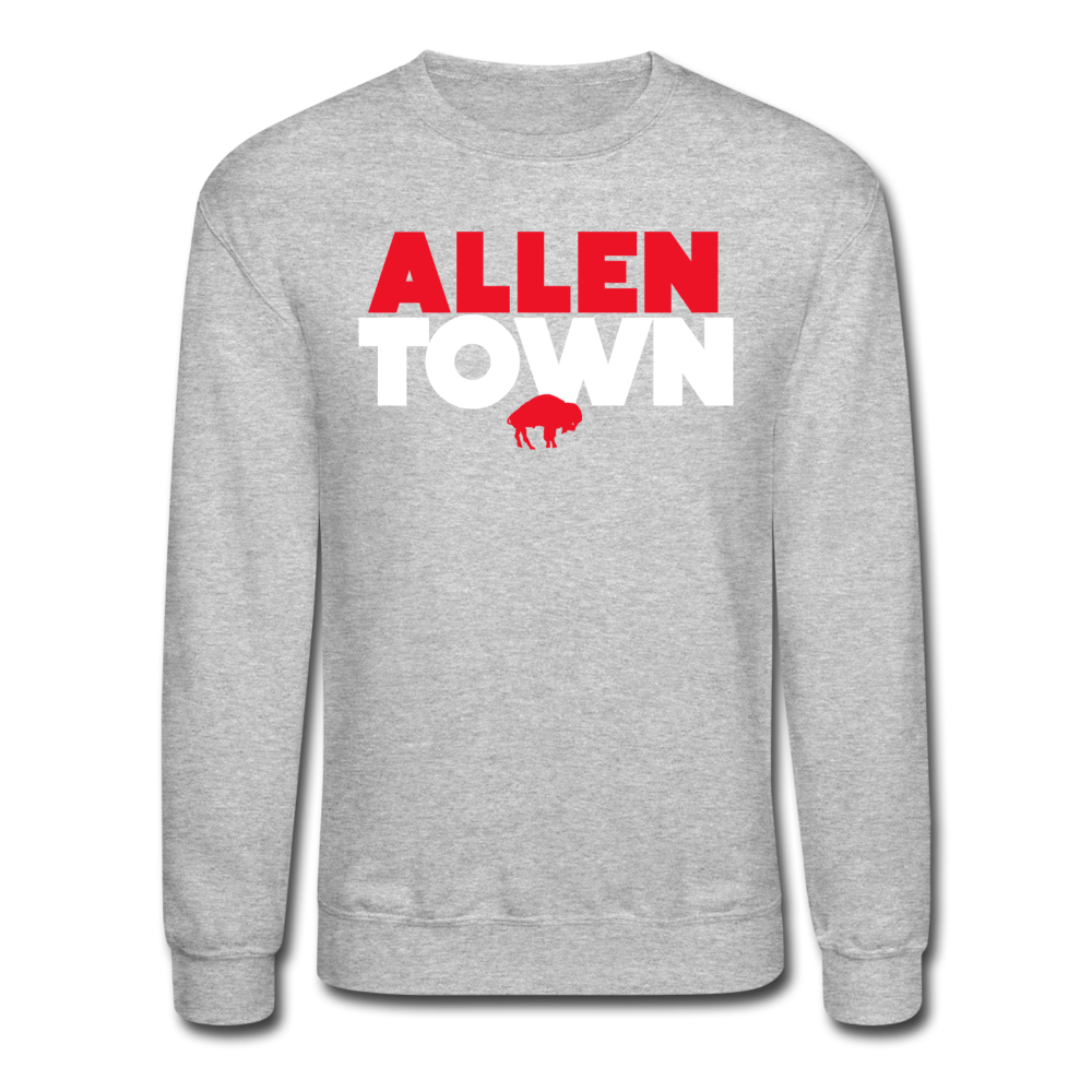 Unisex Allentown Crewneck Sweatshirt - heather gray