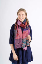 Silk Patch Scarf