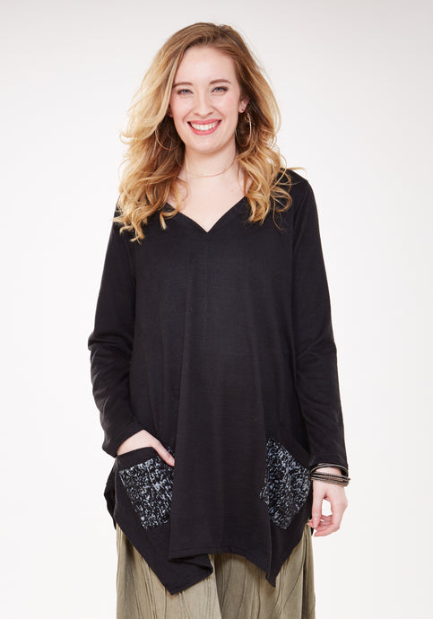 Jali Pocket Tunic