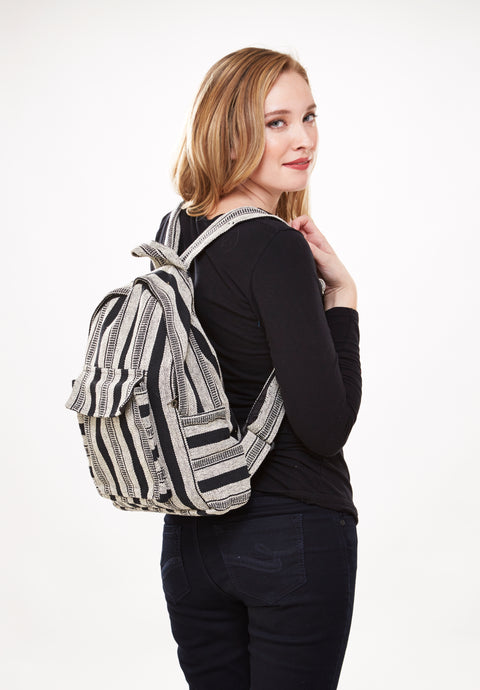 Zebra Stripes Backpack