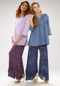 Seaside Wide-Leg Pants