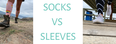 Compression Socks VS. Sleeves - Which One is Right For YOU?