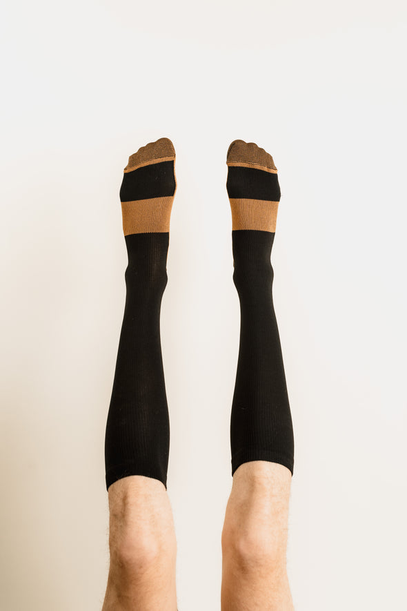 Alpha Copper Infused Compression Socks