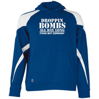 Droppin Bombs All Day  Holloway Youth Hoodie White