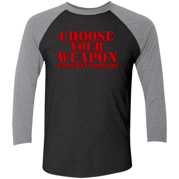 Titan Choose Your Weapon 3/4 Sleeve