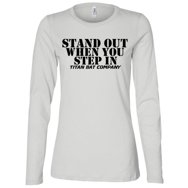Stand Out Ladies Long Sleeve Missy Fit
