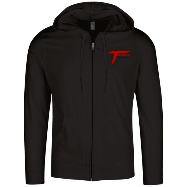 Titan District Lightweight Full Zip Hoodie