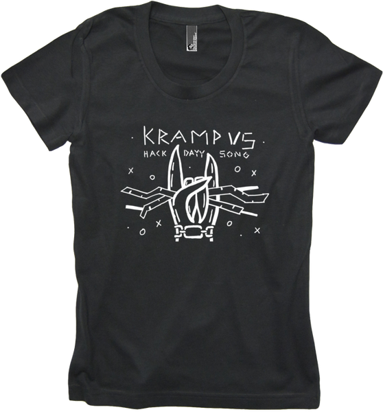 Krampus Hack Dayy Black Womens