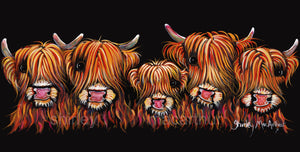 'THe HiGHLaND FiVe' - FRoM £15