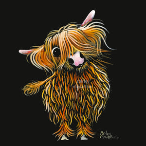 ORiGiNaL HiGHLaND CoW PaiNTiNG ' CoooWeee '