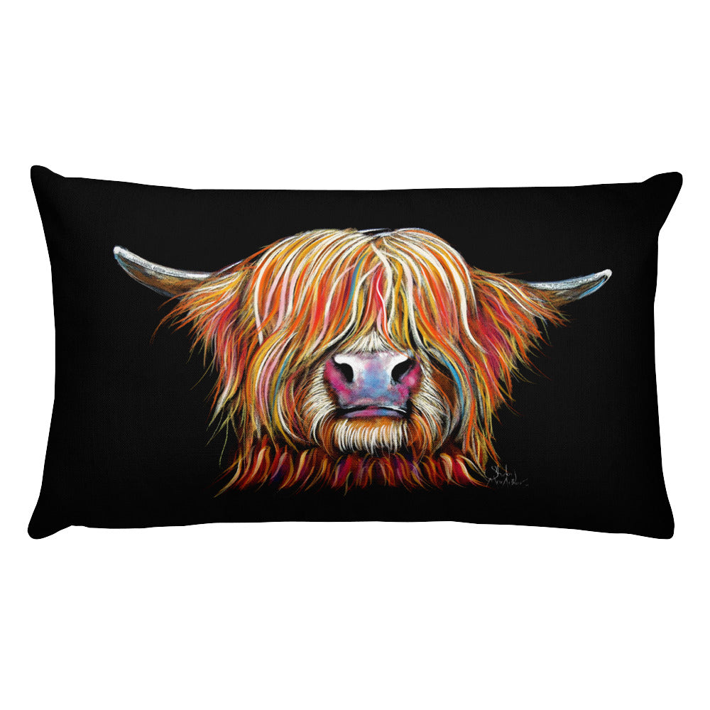 THRoW PiLLoW / CuSHioN 20 x 12 iNCH HiGHLaND CoW ' CHaRMeR '