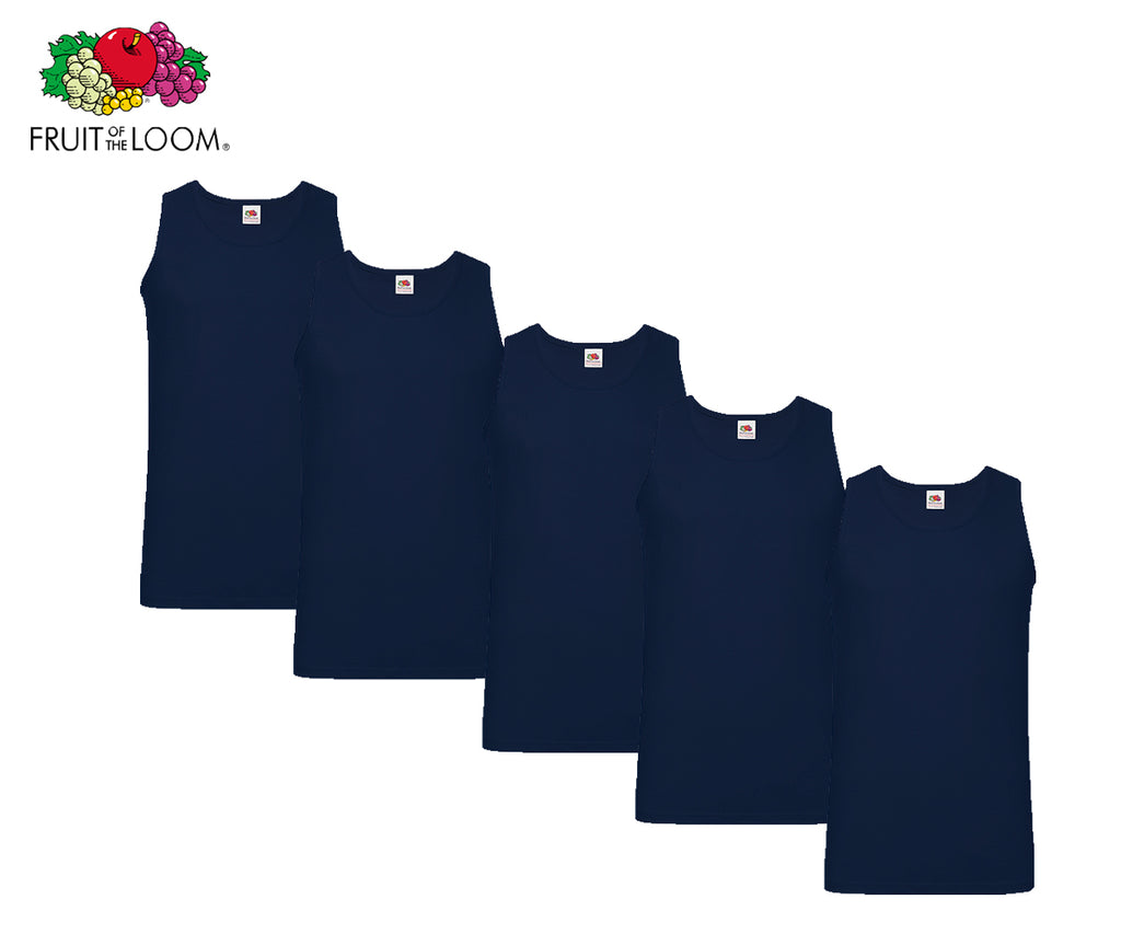 Fruit Of The Loom - Athletic Shirts - 5er Set