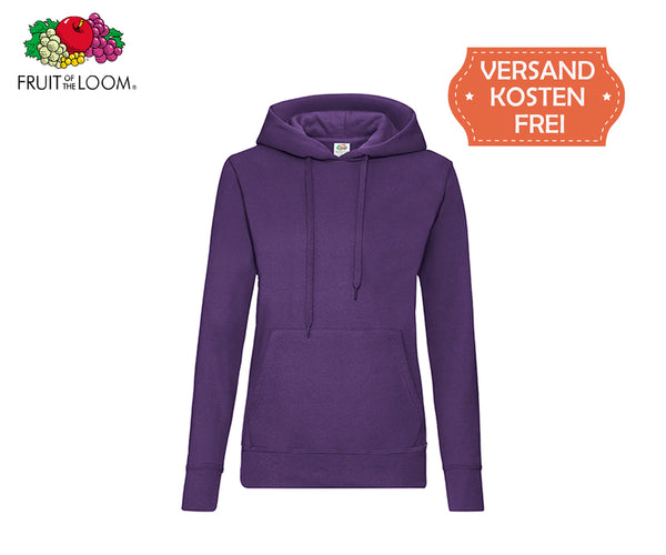Fruit Of The Loom - Kapuzenpullover Damen