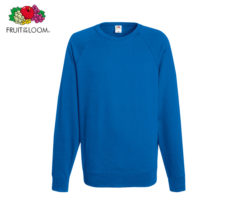 Fruit of the Loom - Lightweight Raglan Sweatshirt