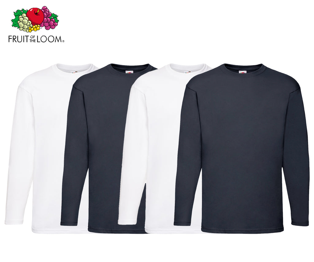 Fruit Of The Loom - Longsleeves - 4er Set's