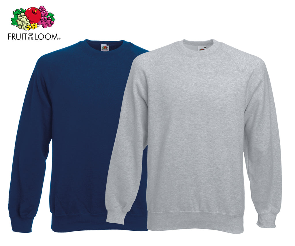 Fruit Of The Loom - Raglan Sweatshirt - 2er Set's