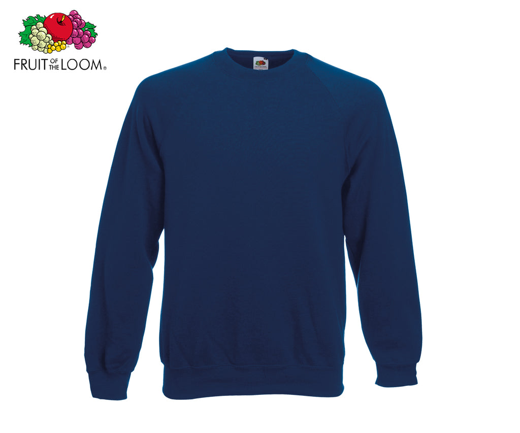 Fruit Of The Loom - Raglan Sweatshirt