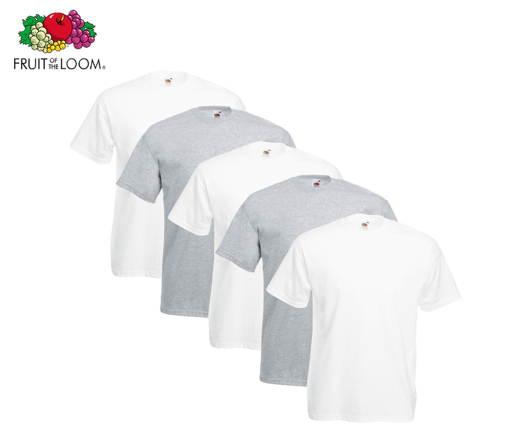 Fruit Of The Loom - Valueweight T-Shirt - 5er Farbset's A-N