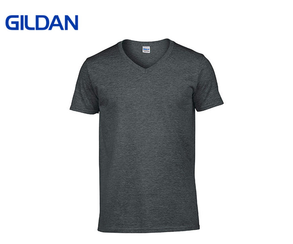 Gildan - Softstyle V-Neck T-Shirts - 6er Set