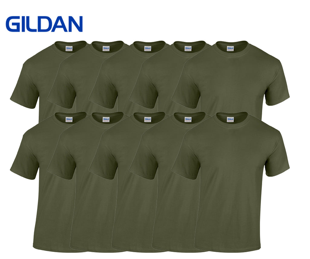 Gildan - Heavy Cotton T-Shirts - 10er Set