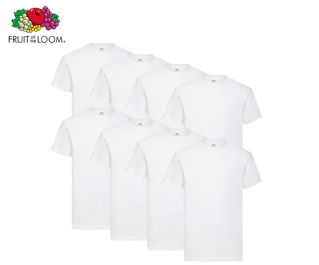 Fruit Of The Loom - Heavy Cotton T-Shirts - 8er Set