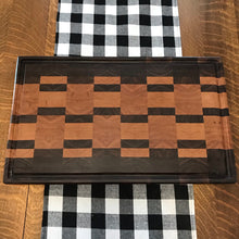 Walnut and Cherry End Grain Cutting Board