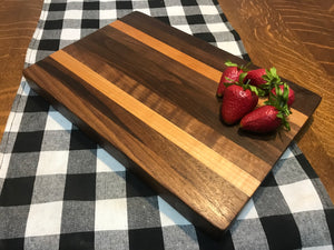 Walnut/ Maple Bar Board