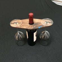 Walnut Wine Caddy