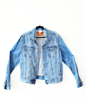 Equality Re-purposed Custom Denim Jacket - in + out apparel