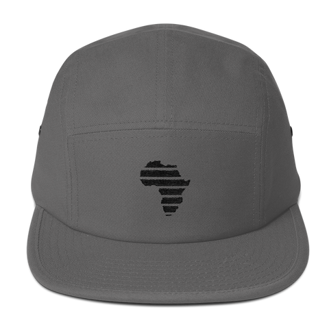 Five Panel Gray Cap