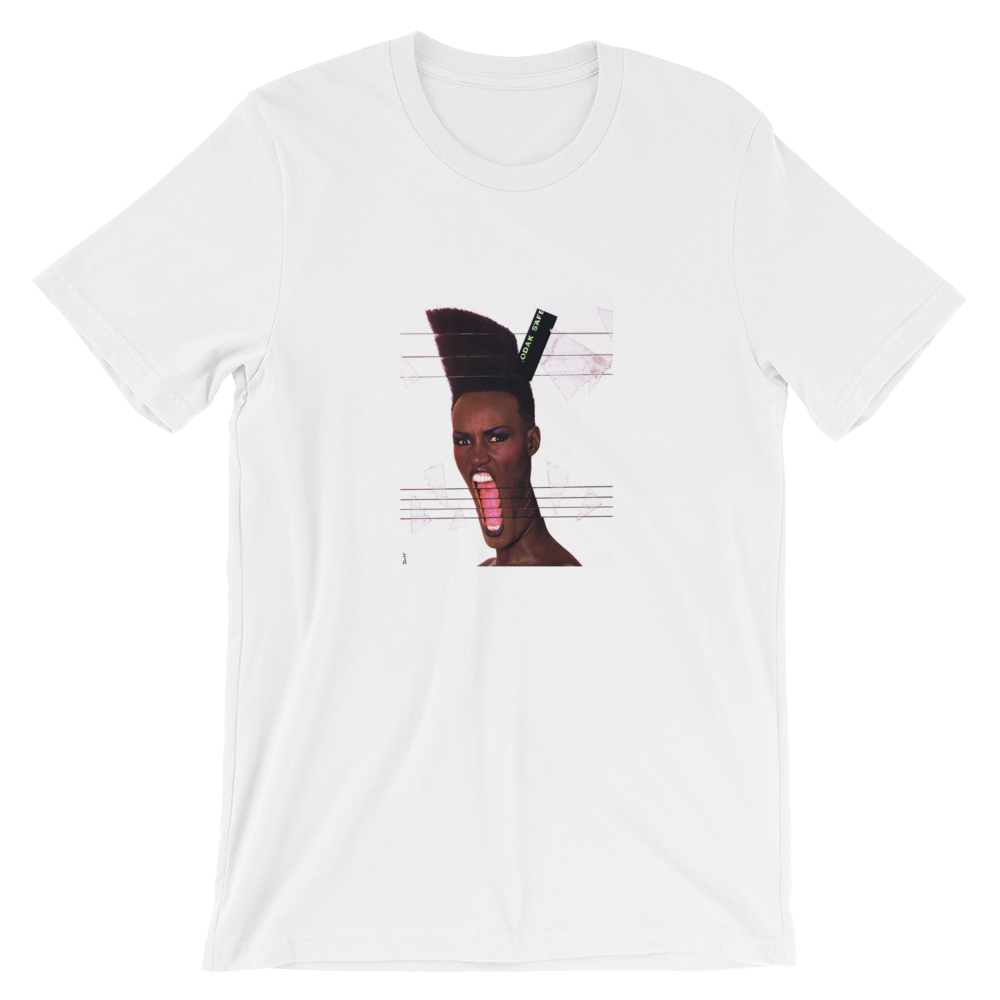 Grace Unisex T-Shirt (White) - in + out apparel
