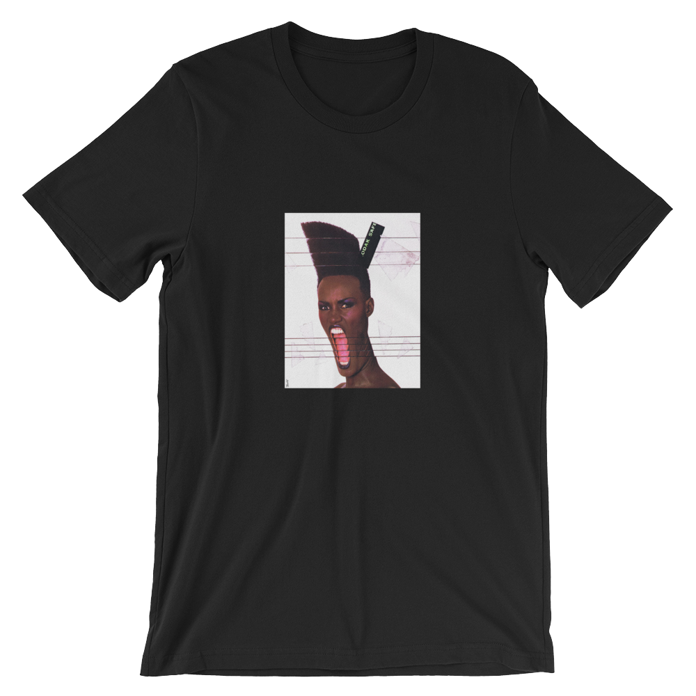 Grace Unisex T-Shirt (Black) - in + out apparel