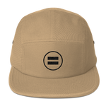 Equality (Black) Five Panel Khaki Cap - in + out apparel