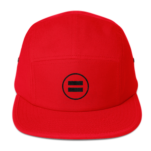 Equality Five Panel Red Cap - in + out apparel