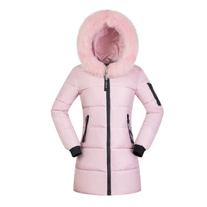 fashion big size thickening cotton-padded jacket