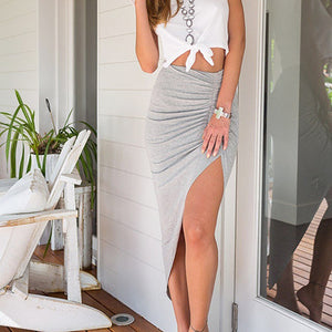 High Waist Maxi Skirt Bodycon