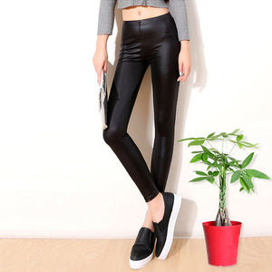 Leather Leggings Stretchy