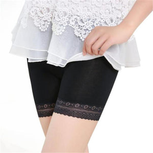 Safety Short Pants Women Lace Tiered Skirts Underwear