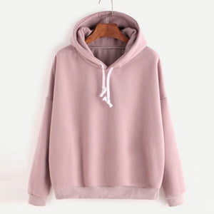 Unisex Hip-hop Solid Color Plain Sweatshirt