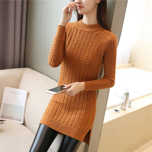 Jenny Long Casual Knitted Sweater