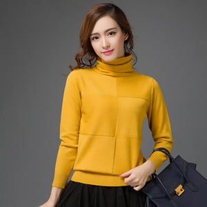 Turtleneck Warm  Knitted Sweater