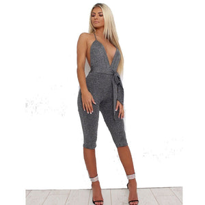 Clubwear Summer Playsuit Sleeveless