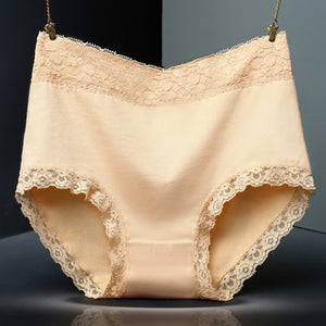 Underwear High Waist Cotton Briefs String P