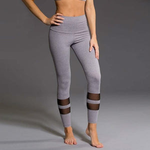 Print Fitness Gym Leggings Stretch Trousers